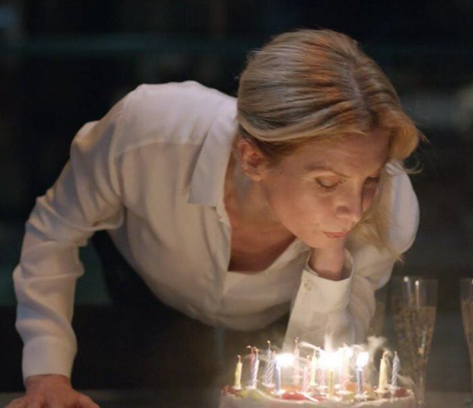 Happy Birthday to Elizabeth Mitchell . 46 years ago the world become a better place . Thanks to her