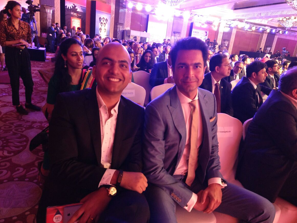 #ETGBS : look who is sitting next to me? 😋😀 Mr Handsome @rahulsharma h...