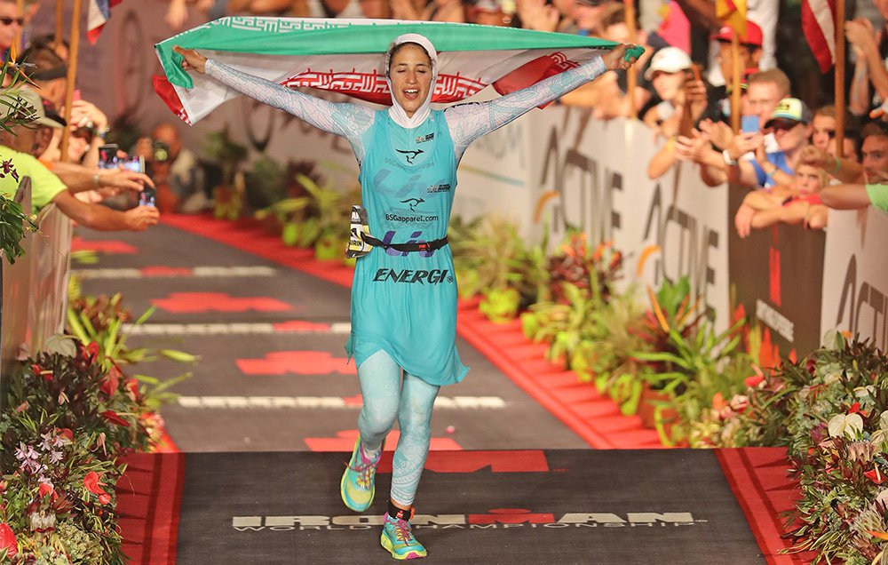 """I finished the Ironman World Championship while wearing a hijab"": htt..."