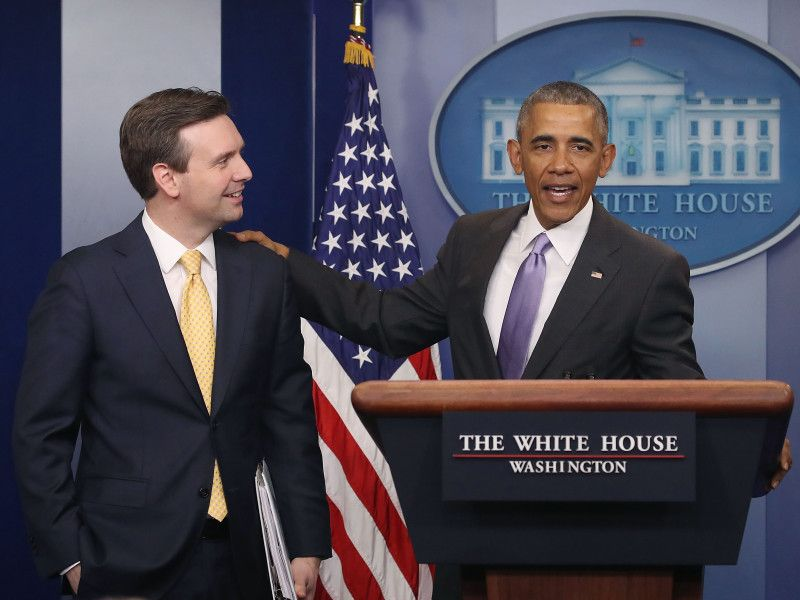 Former WH spox Josh Earnest makes debut as NBC, MSNBC political analys...