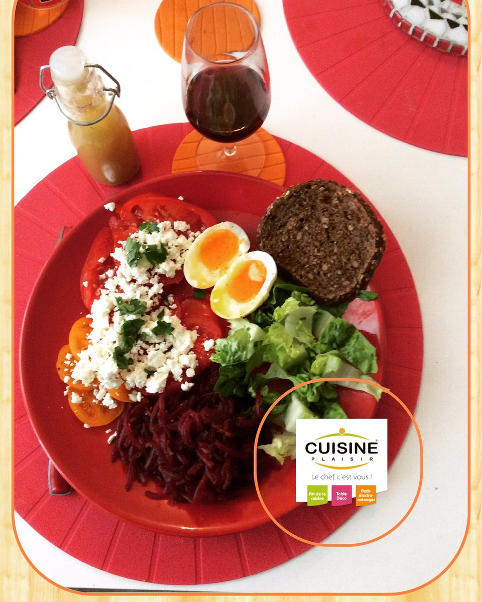 La Salade composée maison de ma femme, j&#39;adore. #cuisineplaisirmarseille #cuisine #foodie #saladecomposée #tomates #feta #miamore<br>http://pic.twitter.com/Etl2DytYVj