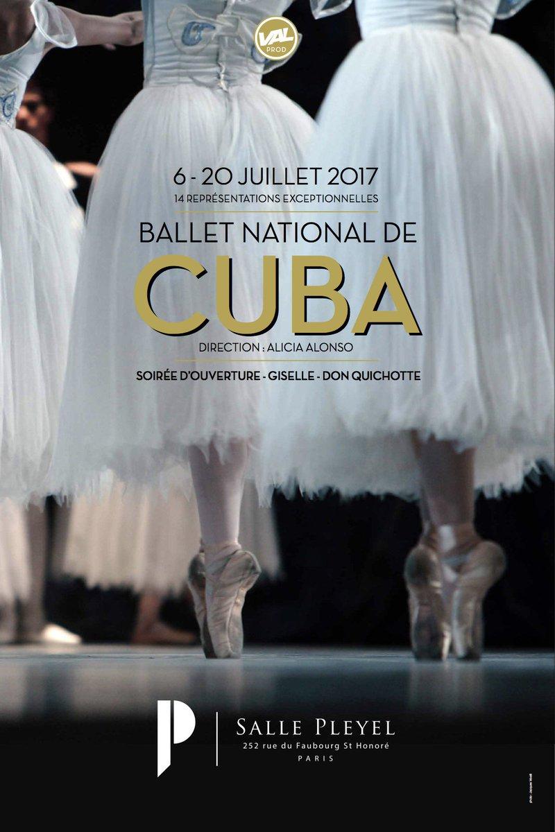Du 06 au 20/07 s'installe le #balletnationaldecuba à #sallepleyel Soirée d'ouverture, Don Quichotte, Giselle, cours https://t.co/Stb9nEdQBu https://t.co/DZfHYf74yZ