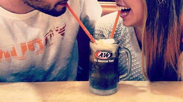 Enjoy Root Beer Floats together. #ImproveYourLoveLifeIn5Words https://...