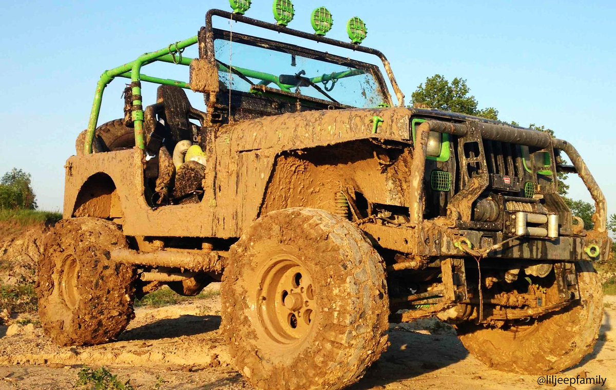 Now that\'s a #MuddyMonday well spent.
