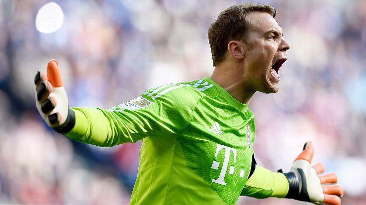 Bir kaleciden fazlası!  @Manuel_Neuer, 31 yaşında... https://t.co/bUWr...