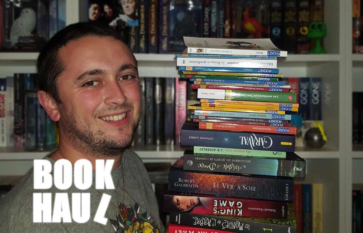 Elle est la ! La vidéo Book Haul =D #booktube #bookhaul   https://www. youtube.com/watch?v=BBuKx0 FeMEI&amp;feature=youtu.be &nbsp; … <br>http://pic.twitter.com/SLWIaHp86h