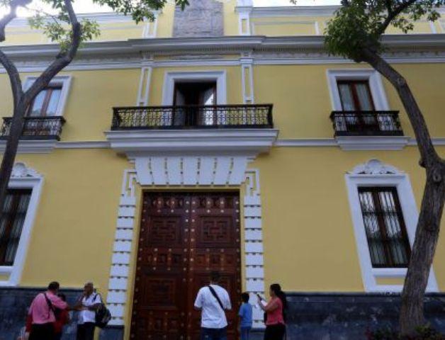 Venezuela solicita suspensión de sesión de la OEA de este martes https...