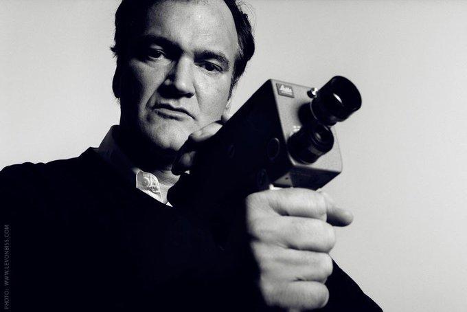 "Happy birthday, master of his craft \""Quentin Tarantino\"""