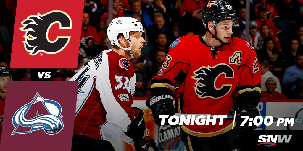 IT'S GAME DAY! The #Flames take on the #Avs at 7:00 PM MT! Preview ~ h...