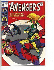Avengers # 59 (VF- 7.5) 1967 Introduction of Yellowjacket, Higher Grad...