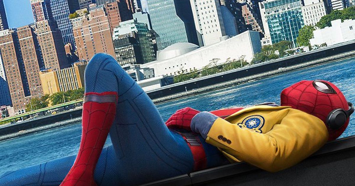 The 'Spider-Man: Homecoming' poster leans into Spidey's Avengers #Spid...