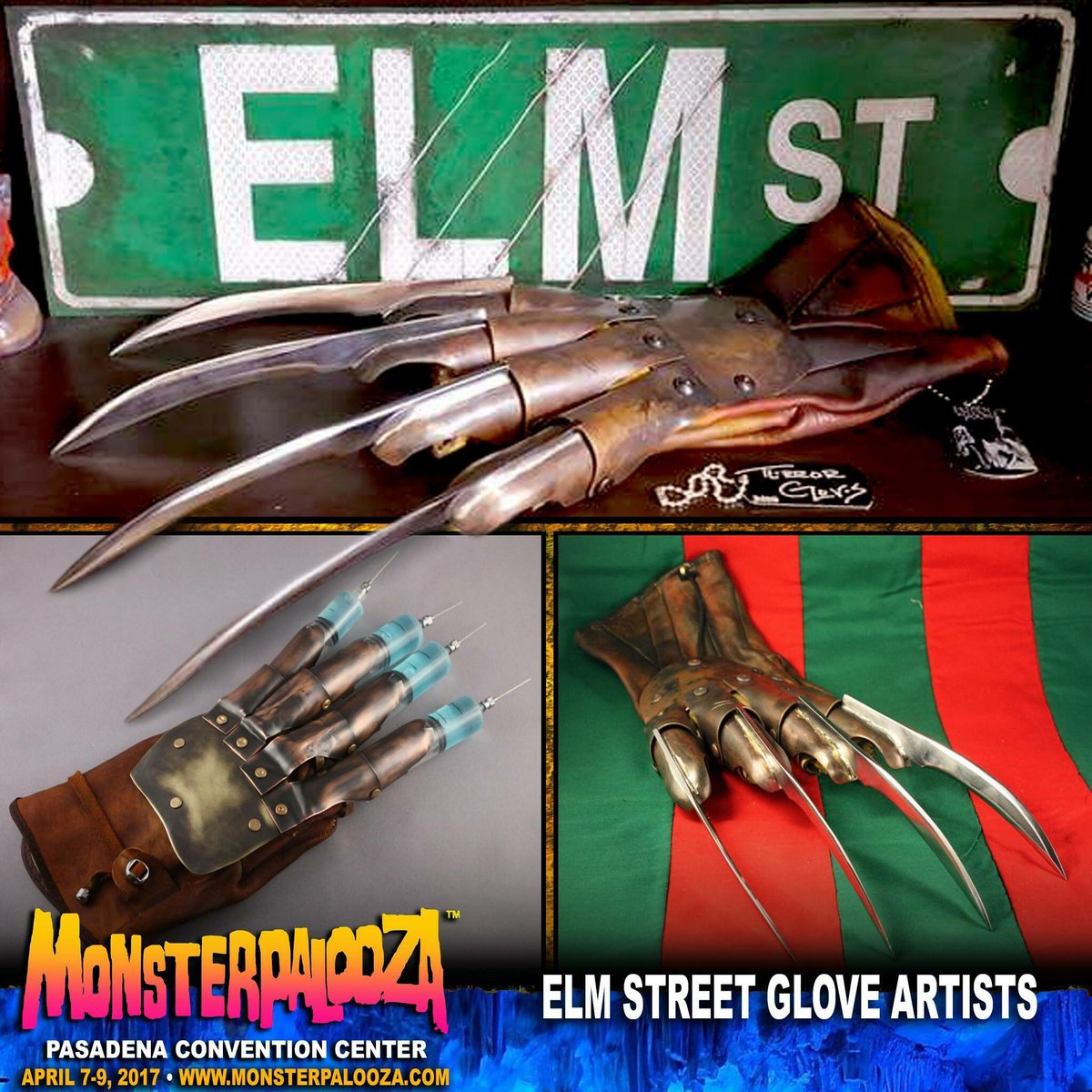 .@MONSTERPALOOZA1 will be featuring artists who specialize in making the iconic #FreddyKrueger Gloves. #anightmareonelmstreet<br>http://pic.twitter.com/tLWd6UaUGq