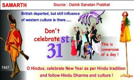 Don&#39;t Welcome the New Year on 1st Jan  with song and dance,eating-drinking, indulging in materialistic pleasures on 31st night.#HappyNewYear <br>http://pic.twitter.com/0EJX6srPqe