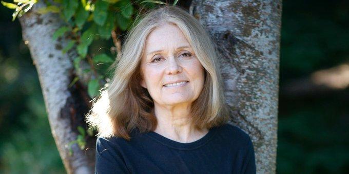 A happy belated birthday wish for Toledo-born author and activist Gloria Steinem!