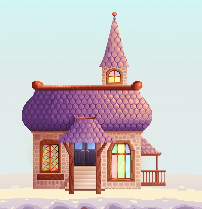 petite maison familiale pour mon jeu o/ #BackToMySnowyHome #pixel #pixelart #house #gamedev #indidev #russia <br>http://pic.twitter.com/uNkWaUWIBR