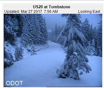 #pdxtst Isn&#39;t it nearly April? like.. spring? Not on the passes. Tombstone (personal fave) from this a.m. <br>http://pic.twitter.com/6FU7tUFKuO