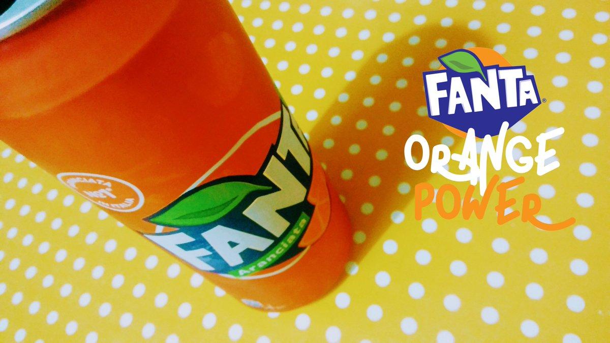 @fanta  Orange Power  #orange #fruits #drink #beverage #fanta #colors #Foodie #spring<br>http://pic.twitter.com/GQfGdXrB20