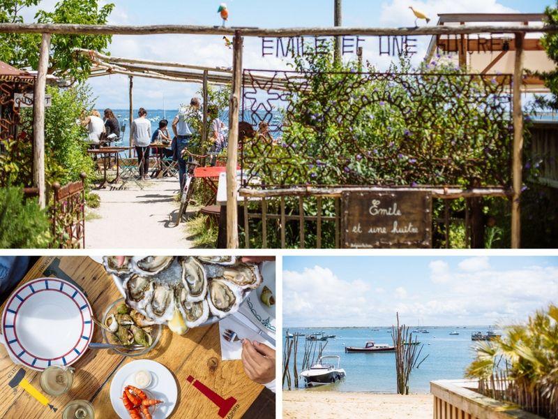 &quot;Emile et une huître&quot; #CabaneÀHuîtres esprit #brocante et vue sur le #DuneduPilat    http:// buff.ly/2nZQe5D  &nbsp;  <br>http://pic.twitter.com/4NctSAWTBH
