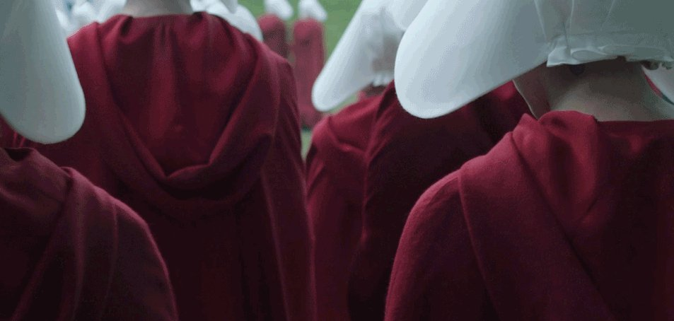 The Handmaid's Tale interrupted a Texas Senate session on anti-abortio...