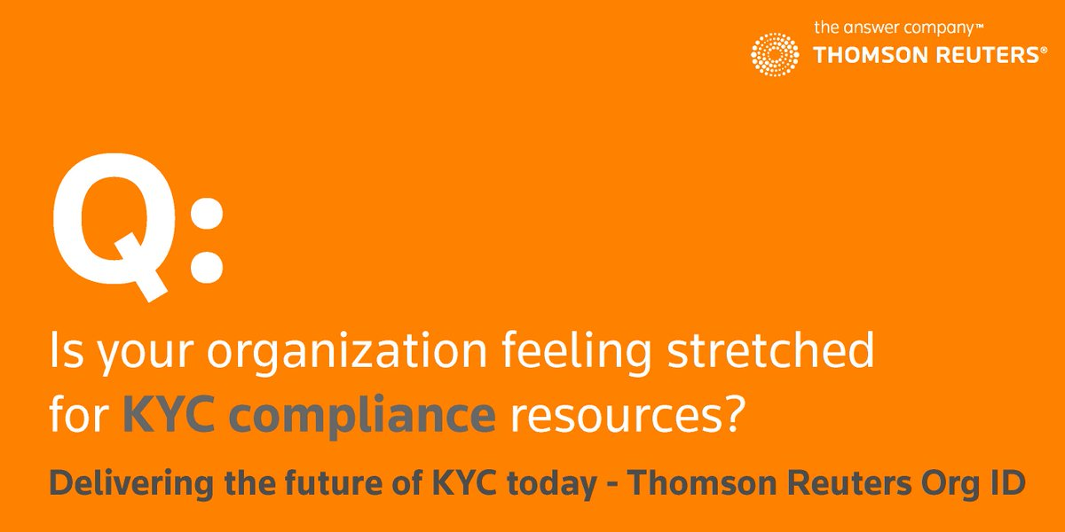 Thomson Reuters on Twitter:
