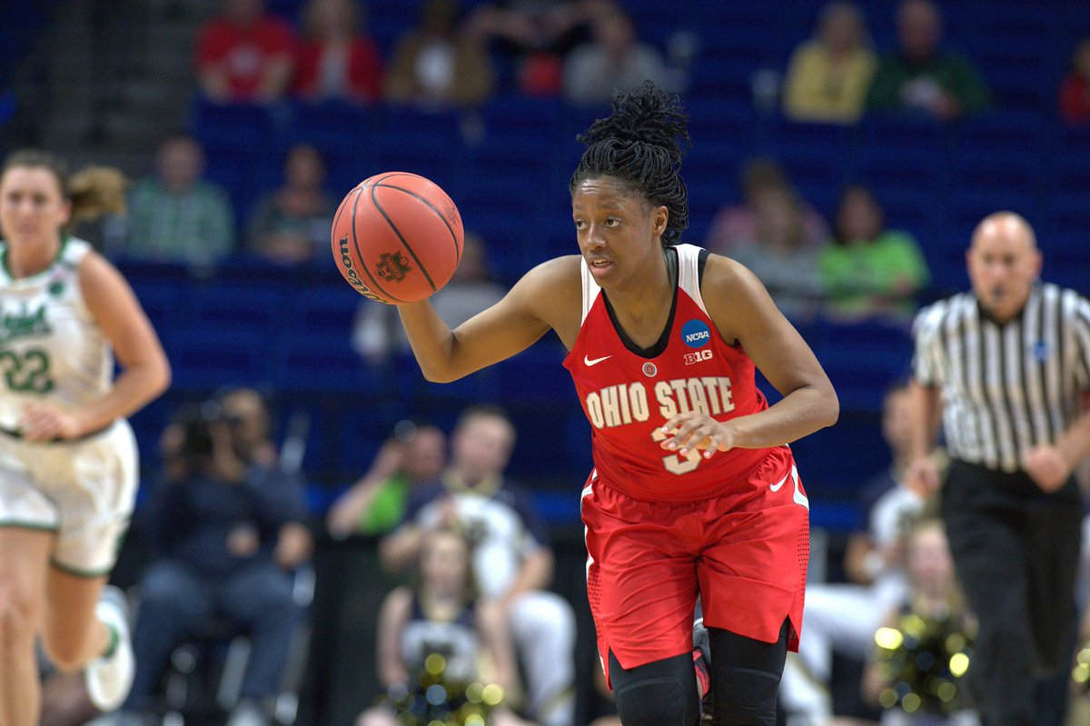 Kelsey Mitchell has been named a second time AP All-American. #GoBucks...