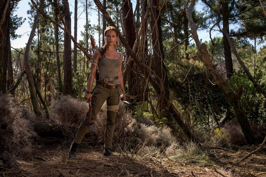 First photos of Alicia Vikander as Lara Croft in 'Tomb Raider' https:/...