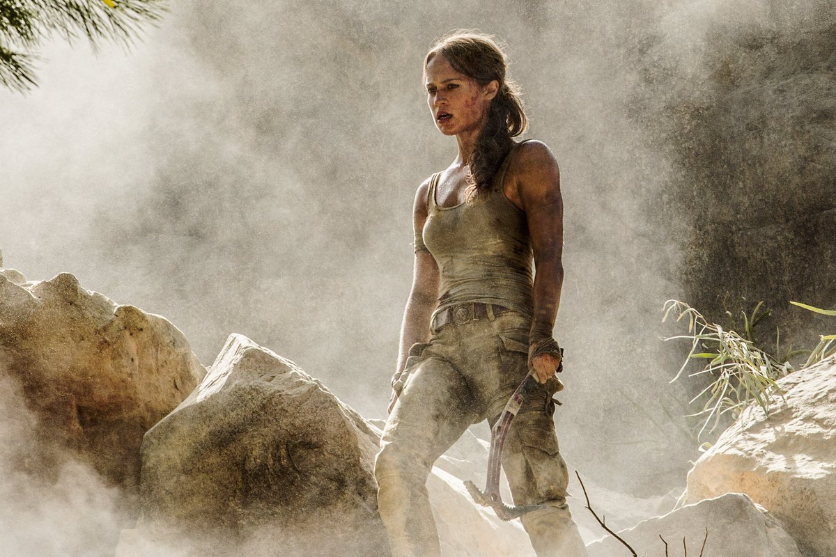 First look: Alicia Vikander as Lara Croft in Tomb Raider. https://t.co...