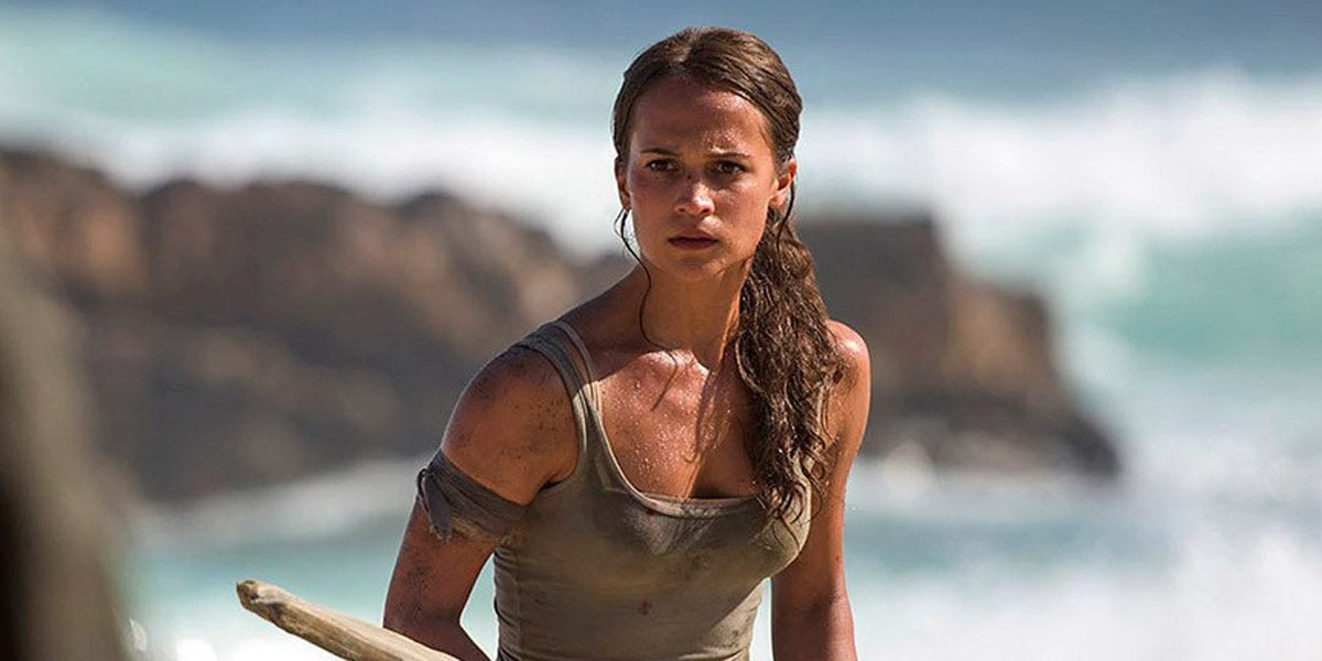 Tomb Raider: First Look at Alicia Vikander as Lara Croft https://t.co/...