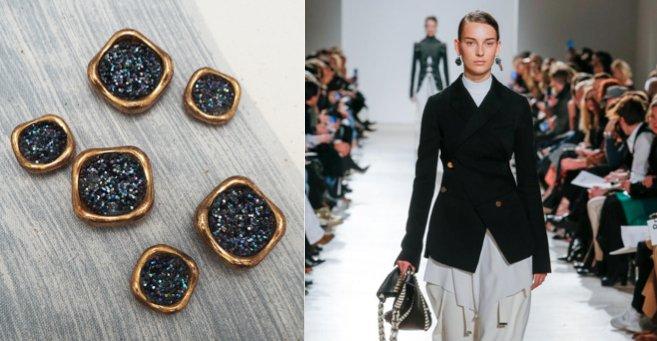 Pimpez vos vestes avec des boutons en série très limitée pour le printemps  http:// ow.ly/96qb30afXBp  &nbsp;   #idées #look #boutons #veste #look <br>http://pic.twitter.com/stQWdihb5c