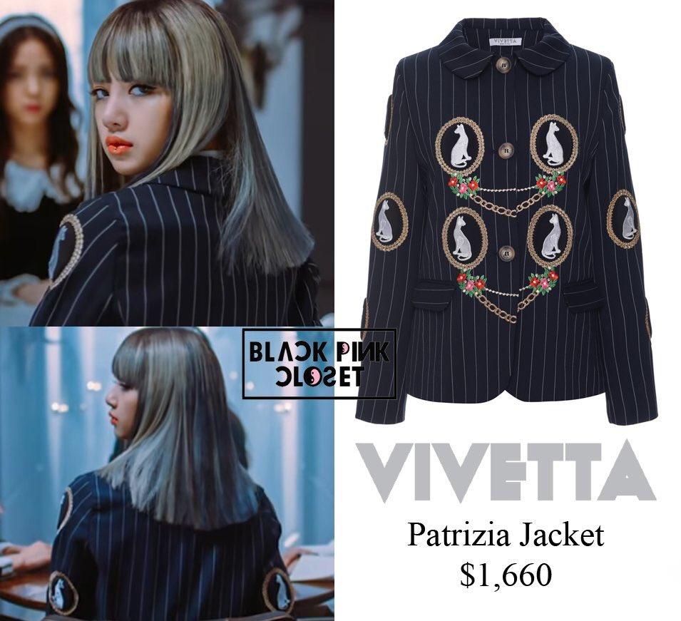 Blackpink Closet On Twitter M V Whistle Bts Lisa Visionair