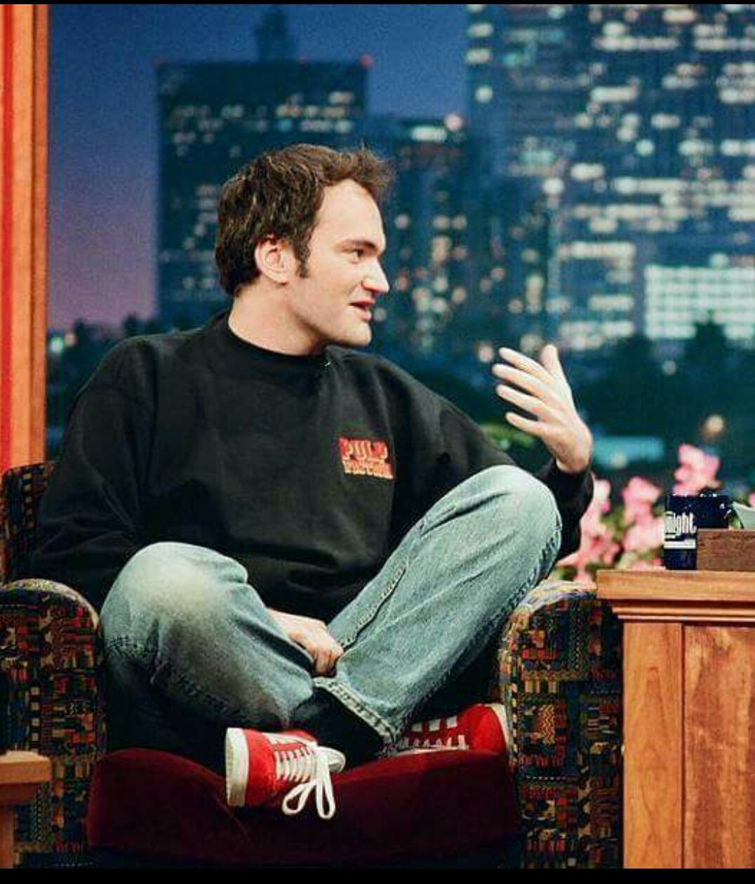 Happy birthday to the crazy & my 2nd favourite director, Quentin Tarantino