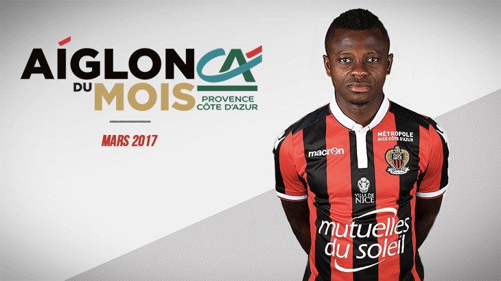 Mika Seri est votre Aiglon @credit_agri_PCA du mois de mars #Club #Distinction #Solide  http:// ogcn.fr/Seri-adm  &nbsp;  <br>http://pic.twitter.com/nWejIopnqy