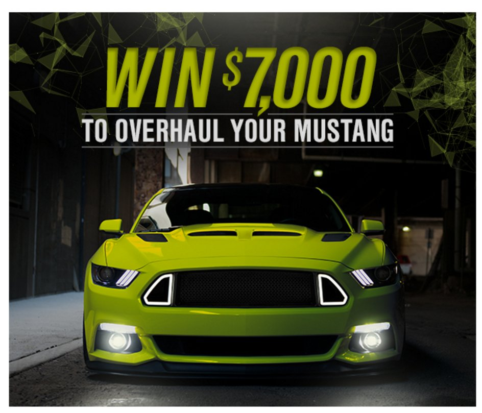 AmericanMuscle.com Sweepstakes Build Your F-150 ($5,000)