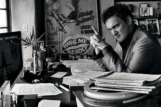 Happy Birthday to my favorite director, Quentin Tarantino, what a talented man