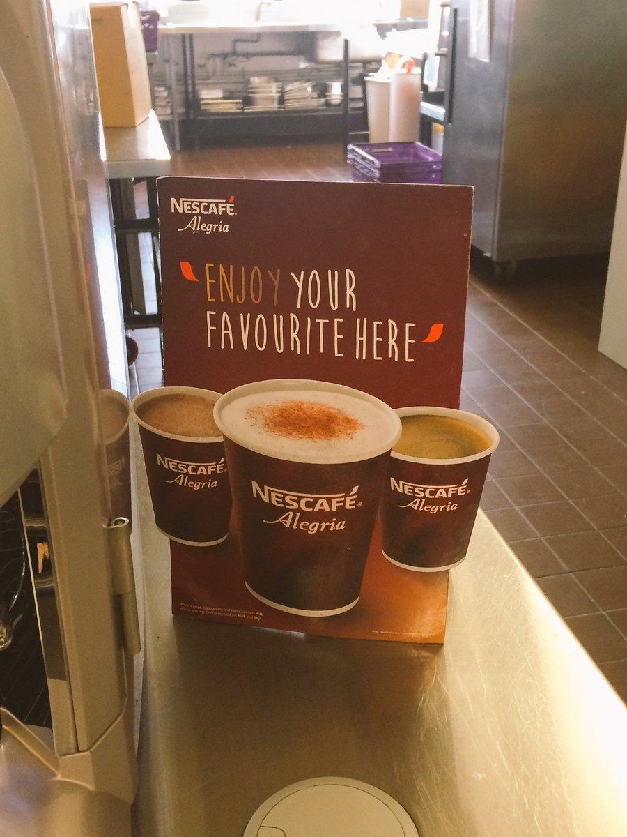 @nestle @NestleProDerick #coffee #Alegria @heritagefish&amp;chipshop love new coffee Said thanks to all staff at nestle for fantastic service <br>http://pic.twitter.com/sLCIzGZjLJ