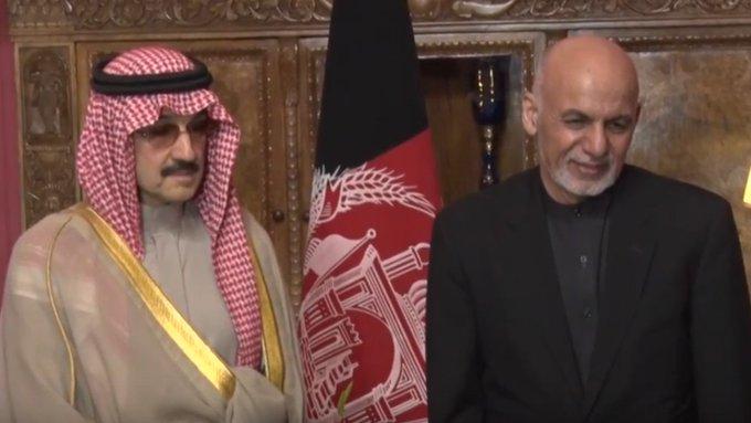 Image result for Saudi Prince Walid bin Talal visited Afghanistan