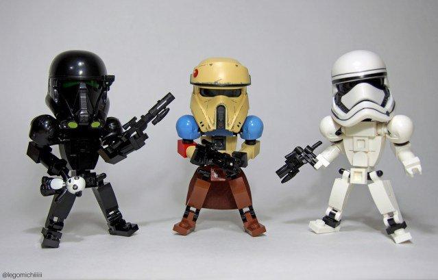 Quand les personnages #LEGO #StarWars prennent la grosse tête -  http:// bit.ly/2mJ33Rg  &nbsp;   #LEGOstarwars #SW #stormtrooper <br>http://pic.twitter.com/3ul4MbrNWy