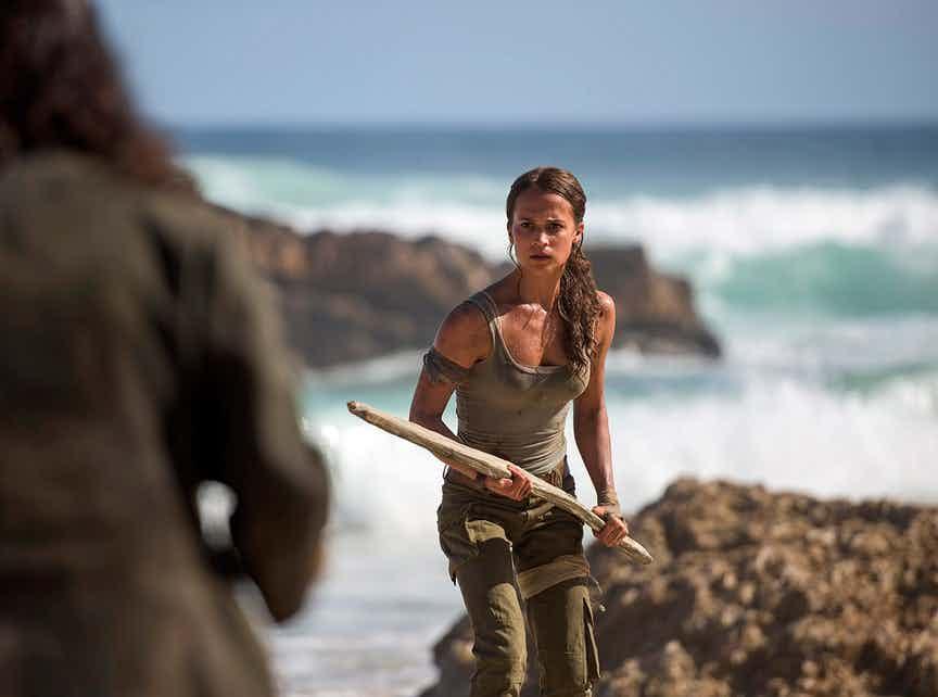 Olha as primeiras imagens da Alicia Vikander como Lara Croft no reboot...