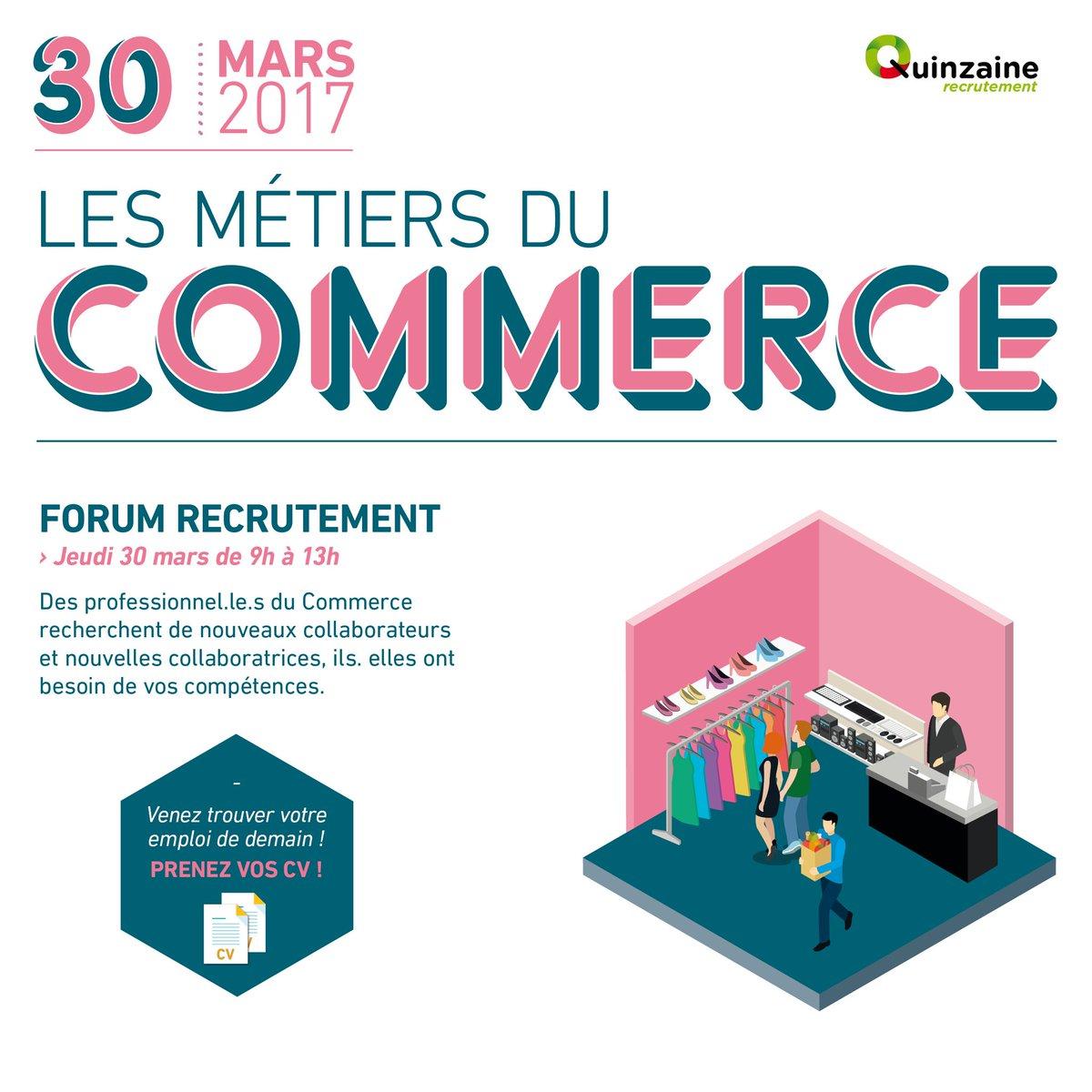 Rendez vous jeudi à la cité des métiers de Marseille , 4 rue des consuls. A vos #CV . forum emploi des métiers du #commerce <br>http://pic.twitter.com/YpIVy5z2iz