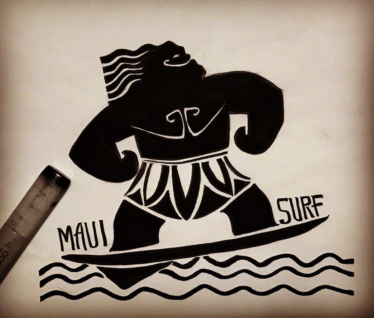 Megumu on twitter moana maui tattoo for Maui tattoo stencil