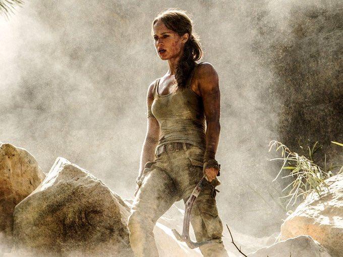 Primeras imágenes de Alicia Vikander como Lara Croft en la nueva saga...