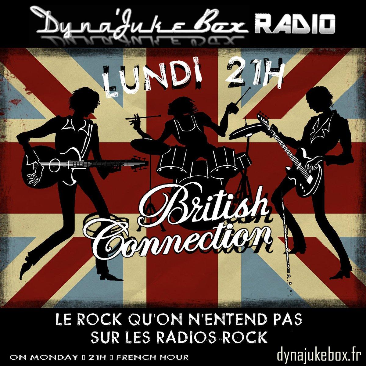 Sur  http://www. dynajukebox.fr  &nbsp;   : #British #Connection à 21h, RDV ce soir pour du #rock ! <br>http://pic.twitter.com/A58vsvauYo