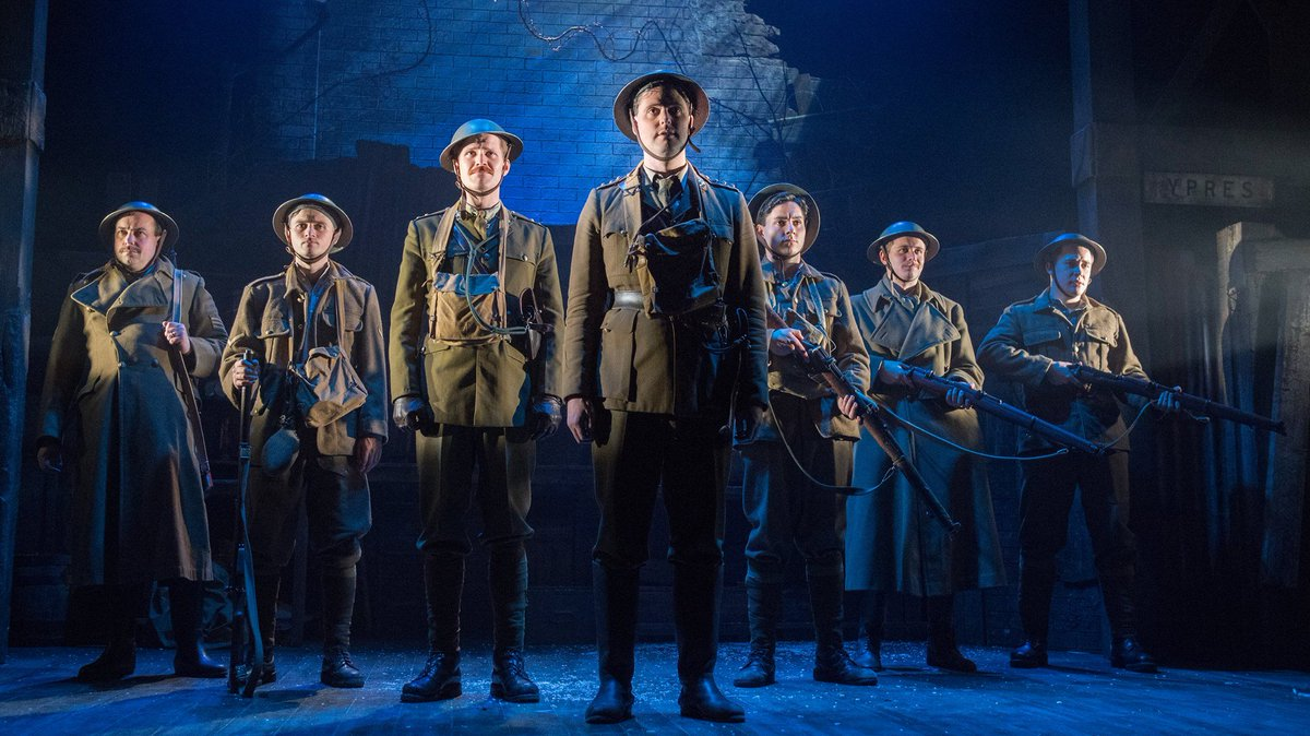 Wishing @georgekemp and the cast all the best for press night of @WipersTimesPlay tonight!!
