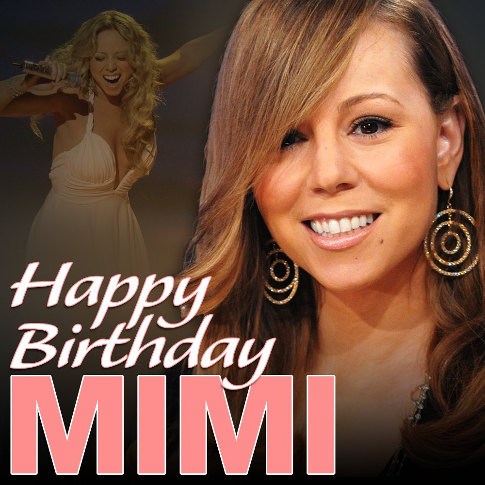 Happy Birthday, Mariah Carey!