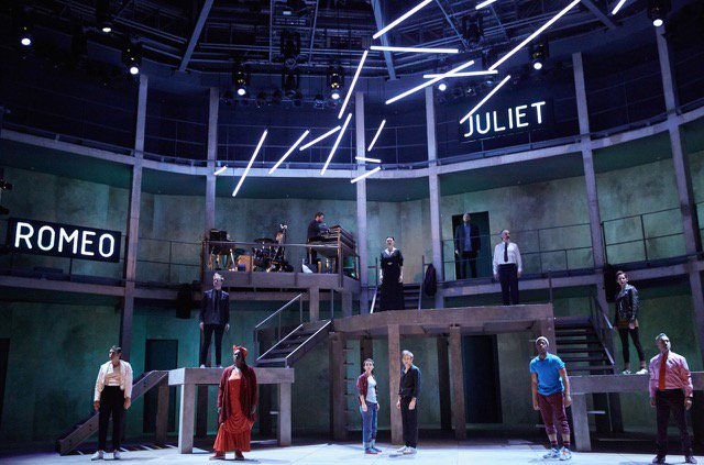 romeo and juliet from stage Romeo and juliet shakespeare homepage is now the two hours' traffic of our stage is father, mother, tybalt, romeo, juliet, all slain, all dead 'romeo is.