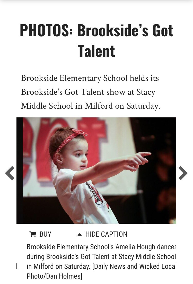 Hey! Lookey, lookey here! Brookside&#39;s Got Talent in the Milford Daily News!!! @MilfordSchools @lisa_lfirth @BrooksideAP #pto #talentshowcase<br>http://pic.twitter.com/VbVukI4UPQ