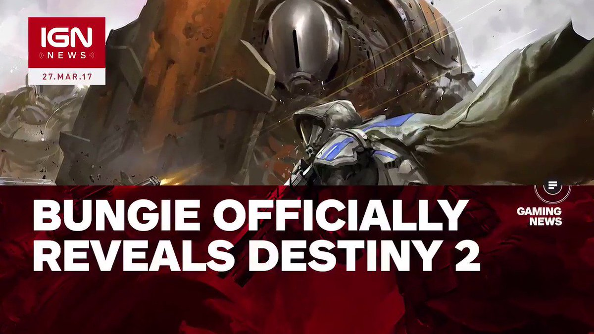 ICYMI: Bungie has officially revealed #Destiny2! https://t.co/HQUnbx7N...