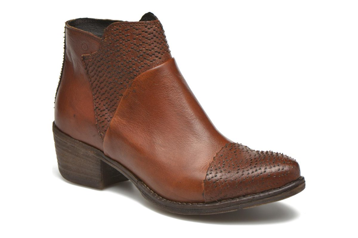 Women&#39;s Khrio Sorolono Zip-Up Ankle Boots In Brown - Size Uk 3.5 / Eu 36 #Sarenza #Fashion #Shoes #Bags #Deals -  http:// wp.me/p6RLYi-afS  &nbsp;  <br>http://pic.twitter.com/1nLAofNRmD