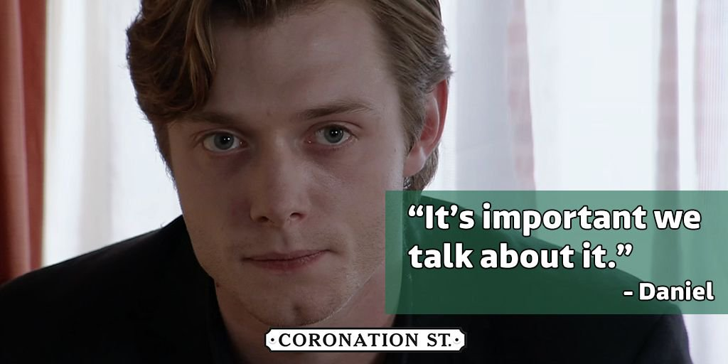 We really don't think Sinead wants to talk about it Daniel 💔  #Corrie...