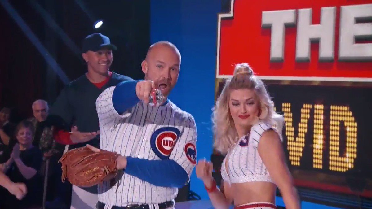 .@D_Ross3 traded in baseball cleats for dancing shoes. Watch him bust...